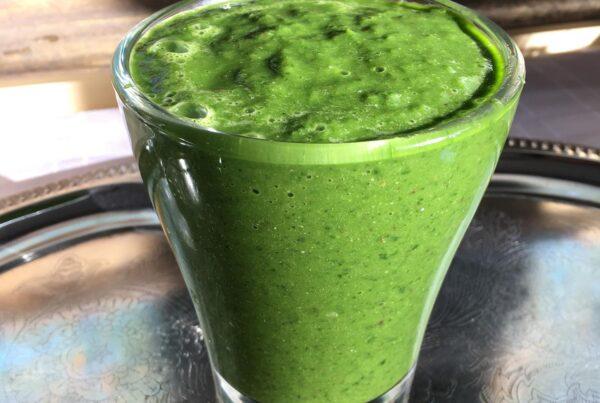 vegan green smoothie